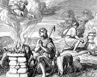 Cain with Abel