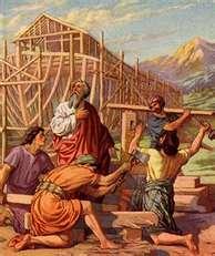 Noah Building Ark