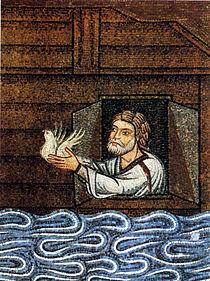 Noah Sends Dove