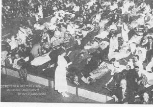 Semple McPherson 1921 Denver