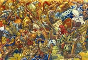 tumultuous battle