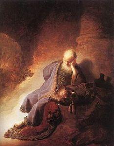 Jeremiah - Rembrandt