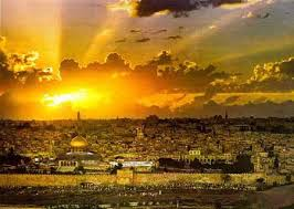 Sunset Behind Jerusalem